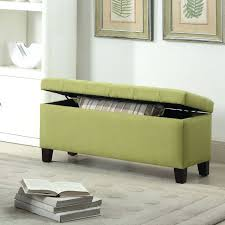 long ottoman bench with storage long leather ottoman bench long