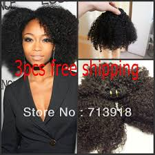 Mongolian Curly Hair Extensions by Real Hair Double Weft Hair Extensions Indian Remy Hair