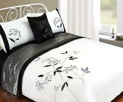 5pc bed in a bag embroidered duvet cover