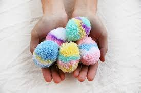 Easter Decorations In Melbourne by How To Make Easy Easter Egg Pom Poms