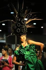 hairshow guide for hair styles outrageous styles at international hair show