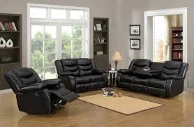 Black Recliner Sofa Set Furniture Outstanding Homelegance Marille Reclining Sofa Set