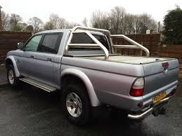 mitsubishi l200 animal 2 5l turbo 2005 silver pick up truck in