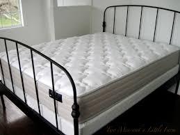 White Metal Bed Frame Queen Bed Frame Lillesand Bed Frame Home Designs Ideas