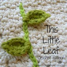 amigurumi leaf pattern this little leaf crochet pattern look at what i made