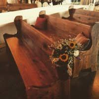bench rentals s custom pews church bench rentals weddings mywedding