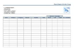 purchase order log templates u2013 microsoft word templates