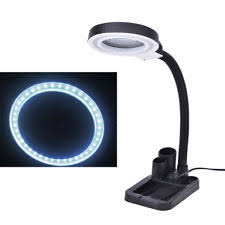 Desk Lamp With Magnifying Glass Desk Magnifying Glass Lamps Ebay