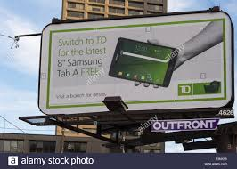 td bank advertising technique offering personal electronic