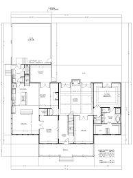 floor house plans with large kitchen and great room arts ivy crest