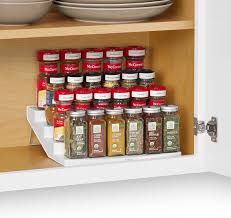 Wall Mount Spice Racks For Kitchen Cabinets U0026 Drawer Pull Out Spice Racks Built In Spice Rack