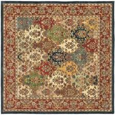 Handmade Wool Rug Safavieh Handmade Heritage Timeless Traditional Multicolor