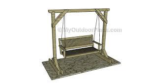 porch building plans 10 free porch swing plans free porch swing plans how to build in