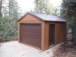 affordable simple design of the pole barn garage kits with wood originalviews