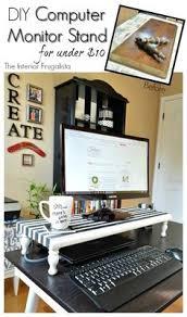 Cool Office Desk Poppin Aqua Monitor Riser Modern Desk Accessories Cool Office