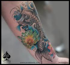 koi fish colour ace tattooz