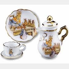 beatrix potter tea set beatrix potter reutter mini teapot set beatrix potter shop
