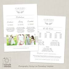 wedding photography pricing wedding photography pricing list template 31
