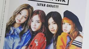 blackpink download album magazine blackpink for japan s mini magazine september 2017 issue