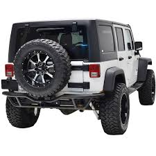 jeep wrangler prerunner paramount automotive 51 0319 pre runner tubular rear bumper fits