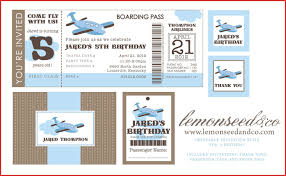 awesome airline ticket invitation template free resume for a job