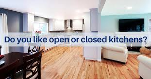 Closed Kitchen Open And Closed Kitchen Cornerstone Builders
