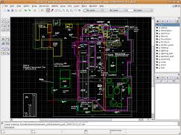 How To Draw Floor Plans On Computer Windows Free Open Source 2d Drafting Cad For Floor Plans