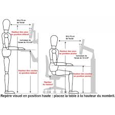 hauteur de bureau de travail hauteur bureau standard guide d achat bureau de travail 10