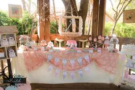 shabby chic baby shower table decorations archives baby shower diy