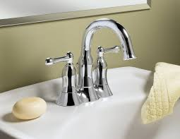 bathroom deck mount lowes bathroom faucets in silver for bathroom
