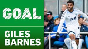 Giles Barnes Goal Giles Barnes Rockets The Opener Into The Top Right Corner