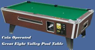 Valley Pool Table by Coin Operated Pool Tables