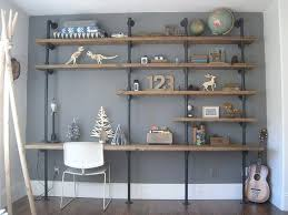 Industrial Pipe Bookcase Bookcase Industrial Pipe And Shelf How To Build Industrial