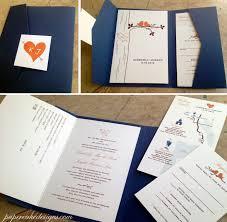pocket invites pocket folder papercake designs