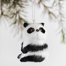 fabric panda ornament set of 4 world market