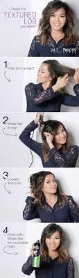 wavy lob haircut tutorial 41 lob haircut ideas for women textured lob lob hairstyle and