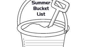 summer bucket list for kids ideas and printout