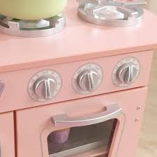 kidkraft cuisine vintage 53179 kidkraft vintage kitchen pink target