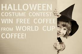 Coffee Halloween Costume Halloween Contest Win Free Coffee Cup Coffee