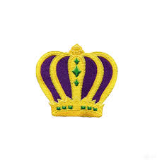 mardi gras crown gras crown embroidery design