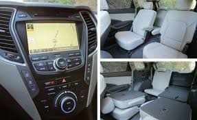 2013 hyundai santa fe limited 2013 hyundai santa fe lwb drive review car and driver