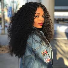 short hairstyles with closures unice 3 bundles indian curly human hair with lace closure unice