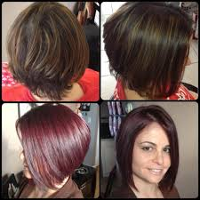 Exotic Colors by Stacked Bob Before U0026 After Hair Color For More Of My Make Up