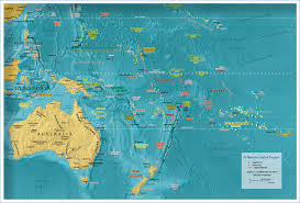 Blank Map Of Australia by Political Map Of Oceania Australia 1800 Px Nations Online Project