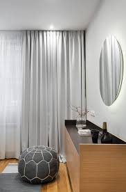 Gray Curtains For Bedroom Mid Century Inspired Apartment In Lozenetz Bulgaria Form