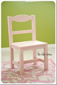 Building Outdoor Furniture What Wood To Use by Child Chair Ana White Just The Pic Modify The Chair Plans To