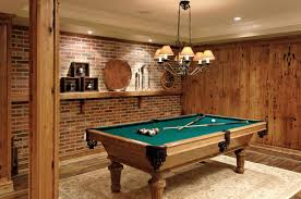 Rustic Basement Ideas by Pool Room Ideas Basement Rec Room Dark Paint And A Pool Table