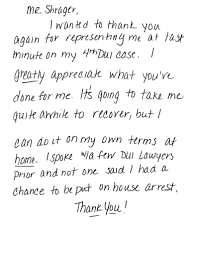 thanksgiving letter to clients client reviews testimonials and success stories shrager defense