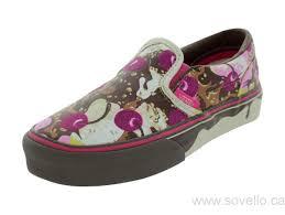 black friday kids friday kids vans classic slip on banana split skate shoes ice