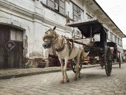 philippine kalesa vigan philippines july 25 2015 a kalesa or horse carriage